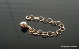 Gold-filled Extension Chain with ball