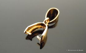 NEW!! Gold Plated Bail with 5.25mm Loop