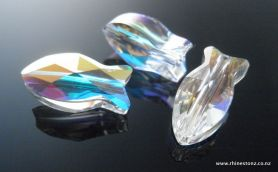 Swarovski Fish Bead Art 5727 Crystal AB 14mm