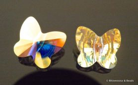 Swarovski Butterfly Art 5754 Crystal AB 10mm