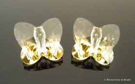 Swarovski Butterfly Art 5754 Jonquil 10mm
