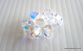 Swarovski Bicone Art 5328 Crystal AB 6mm