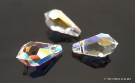 Swarovski Teardrop Art 6000 Crystal AB 11mm