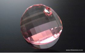 Swarovski Twist Art 6621 Light Rose 18mm