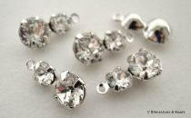 NEW!! Swarovski Pendant 14mm Rhinestone Drop