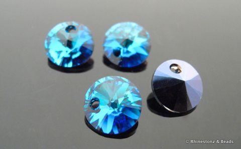 7d2246d61f340 Swarovski Rivolli Art 6428 Bermuda Blue 8mm