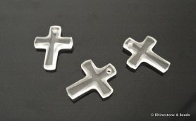 Swarovski Cross Art 6860 Crystal Frosted 12mm