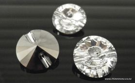 Swarovski Button Art 3015 Rivolli Crystal 12mm