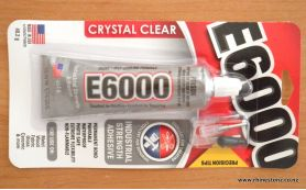 E6000 Adhesive 1oz + 3 Precision Tips CANNOT SHIP OUTSIDE NZ