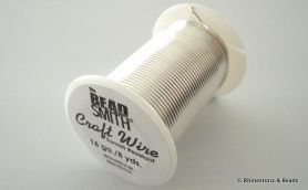 Craft Wire Bead Smith 16 gauge 7.31 mtrs SILVER