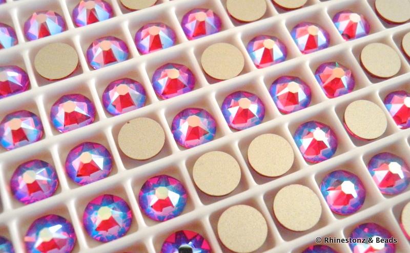Swarovski Hyacinth Shimmer Art 2088 Flatbacks ss30